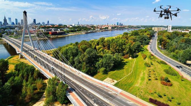 Drony w Płocku – filmowanie z powietrza
