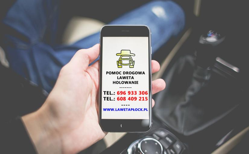 Pomoc drogowa Płock, holowanie, laweta Pan Samochodzik